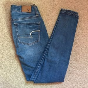 American Eagle Outfitters Jeans - Light Wash Jeggings | AE